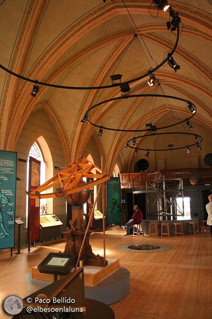 Interior del Museo de Tycho Brahe en la isla de Ven. Foto: Paco Bellido