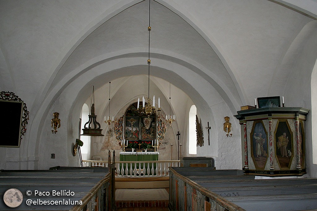 Retablo de la iglesia de St. Ibbs. Foto: Paco Bellido
