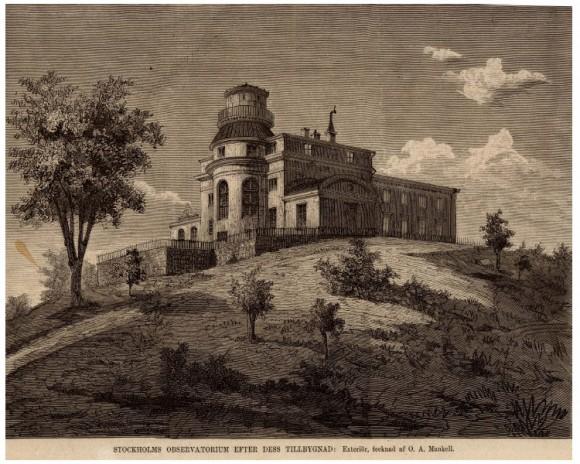 Una visita al Real Observatorio de Estocolmo