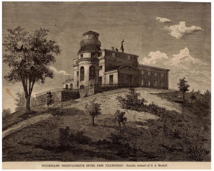 Grabado de O. A. Mankell en Ny illustrerad tidning (1877)