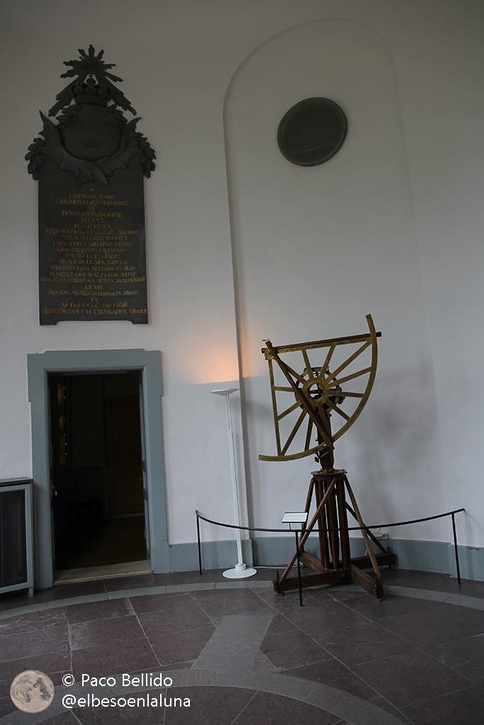 Cuadrante de Bird y acceso a la sala del meridiano. Foto: Paco Bellido
