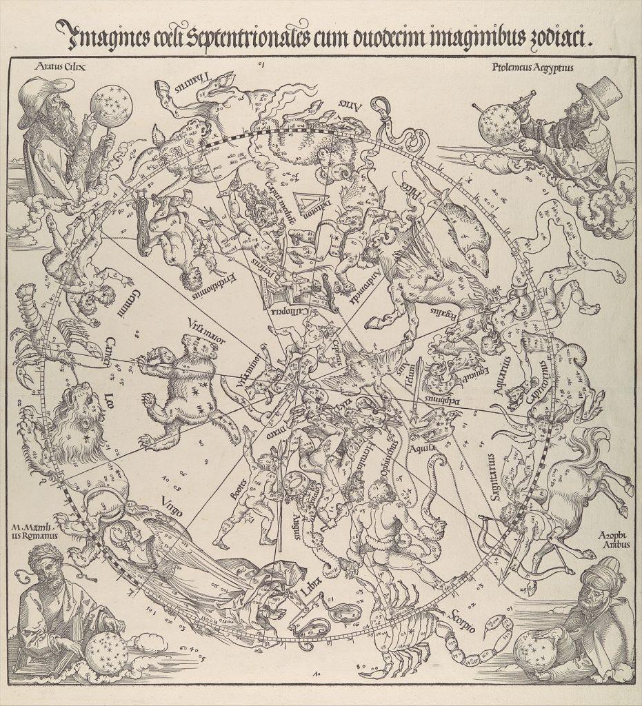 Mapa Estelar Hemisferio Norte.El Primer Mapa Celeste Impreso Otros Mundos