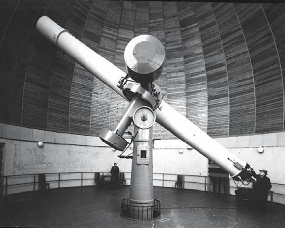 El telescopio de Mussolini