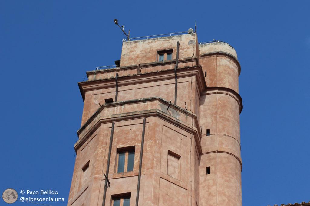 La torre Calandrelli en la actualidad