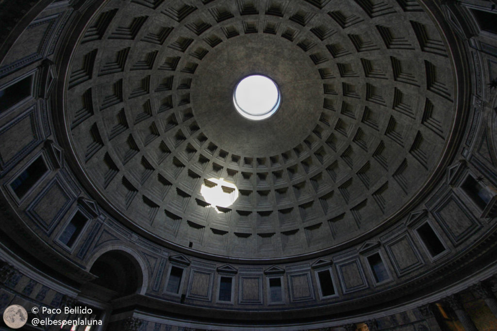 El óculo del Panteón