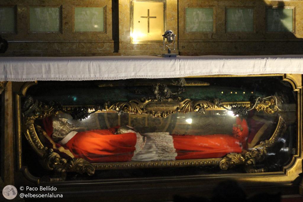 Momia de Roberto Bellarmino