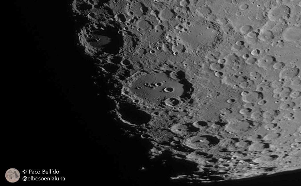 El cráter Clavius